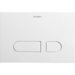 Duravit DuraSystem WD5001011000 Клавиша смыва A1 для унитаза пластик белый