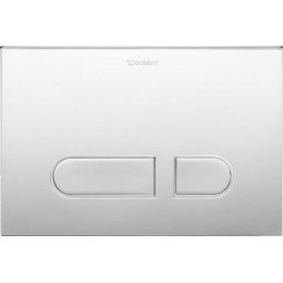 Duravit DuraSystem WD5001021000 Клавиша смыва A1 для унитаза пластик хром
