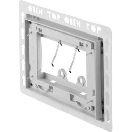 Duravit DuraSystem WD6001011000 Рама для встраивания, для пластика белая