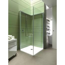Duravit OpenSpace  770001000110000 Перегородка для душа Прозрачное и зеркальное стекло смесители справа