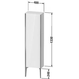 Duravit XVIU XV1315LB140 Шкафчик напольный 400 x 240 мм Черный глянцевый