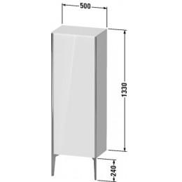 Duravit XVIU XV1326LB140 Шкафчик напольный 500 x 360 мм Черный глянцевый