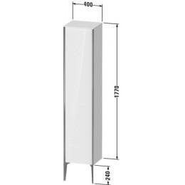 Duravit XVIU XV1335LB122 Шкаф подвесной 400 x 360 мм белый глянцевый декор