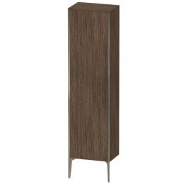 Duravit XVIU XV1336LB121 Высокий шкаф напольный 177 см орех темный декор