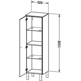 Duravit Brioso BR1310L1022 Шкаф подвесной 42 см белый глянцевый
