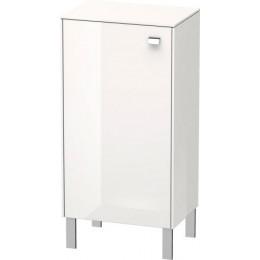 Duravit Brioso BR1340L1022 Шкаф индивидуальный белый глянцевый