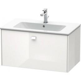 Duravit Brioso BR400202222 Тумбочка подвесная 82 см Белый глянцевый