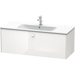 Duravit Brioso BR400402222 Тумбочка подвесная 122 см Белый глянцевый
