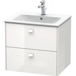 Duravit Brioso BR410102222 Тумбочка подвесная 62 см Белый матовый