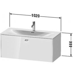 Duravit Brioso BR421302222 Тумбочка подвесная 102 см Белый глянцевый