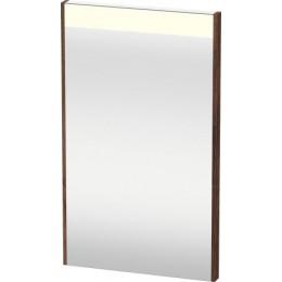 Duravit Brioso BR700002121 Зеркало с подсветкой 42 см Орех темный