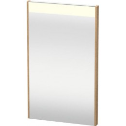 Duravit Brioso BR700005252 Зеркало с подсветкой 42 см Европейский дуб