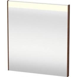 Duravit Brioso BR700102121 Зеркало с подсветкой 62 см Орех темный
