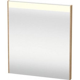 Duravit Brioso BR700105252 Зеркало с подсветкой 62 см Европейский дуб