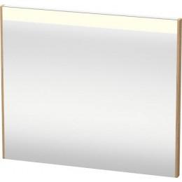 Duravit Brioso BR700205252 Зеркало с подсветкой 82 см Европейский дуб
