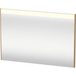 Duravit Brioso BR700305252 Зеркало с подсветкой 102 см Европейский дуб