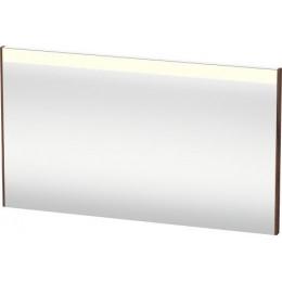 Duravit Brioso BR700402121 Зеркало с подсветкой 122 см Орех темный