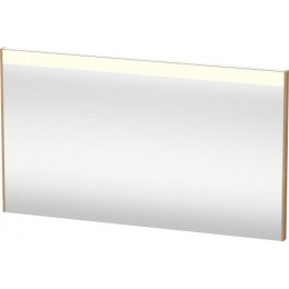Duravit Brioso BR700405252 Зеркало с подсветкой 122 см Европейский дуб