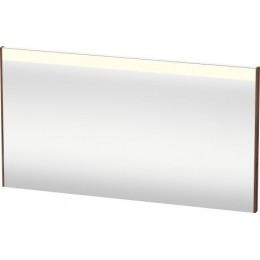 Duravit Brioso BR700502121 Зеркало с подсветкой 132 см Орех темный