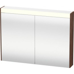 Duravit Brioso BR710202121 Зеркальный шкафчик 82 см Орех темный
