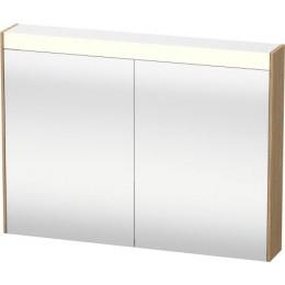 Duravit Brioso BR710205252 Зеркальный шкафчик 82 см Европейский дуб