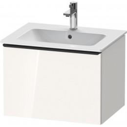 Duravit D-Neo DE426102222 Тумбочка подвесная 61 см Белый глянцевый