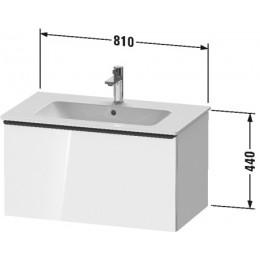 Duravit D-Neo DE426201616 Тумбочка подвесная 81 см Черный дуб