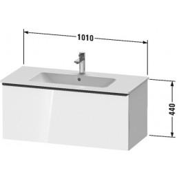 Duravit D-Neo DE426302222 Тумбочка подвесная 101 см Белый глянцевый