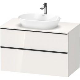 Duravit D-Neo DE496802222 Тумбочка подвесная 100 см Белый глянцевый
