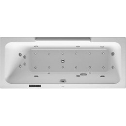 Duravit DuraStyle 760292000CL1000 Ванна гидромассажная 160 см белый Combi-System L