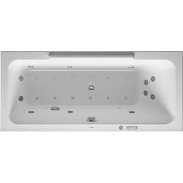 Duravit DuraStyle 760293000CE1000 Ванна гидромассажная 160 см белый Combi-System E