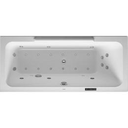Duravit DuraStyle 760293000CL1000 Ванна гидромассажная 160 см белый Combi-System L