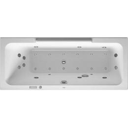 Duravit DuraStyle 760294000CE1000 Ванна гидромассажная 170 см белый Combi-System E