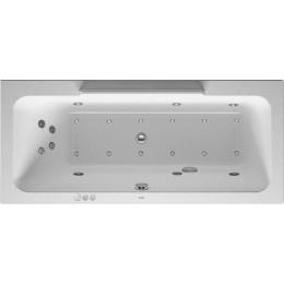 Duravit DuraStyle 760296000CP1000 Ванна гидромассажная 170 см белый Combi-System P