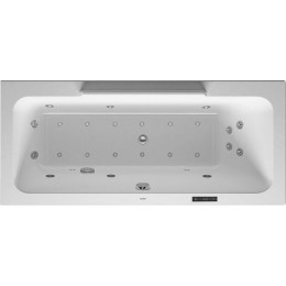 Duravit DuraStyle 760297000CL1000 Ванна гидромассажная 170 см белый Combi-System L