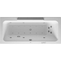 Duravit DuraStyle 760297000CP1000 Ванна гидромассажная 170 см белый Combi-System P