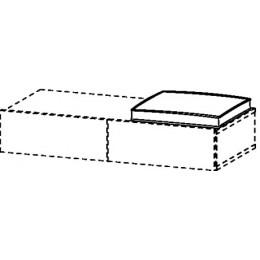 Duravit Durastyle DS993800000 Подушка для сидения белый