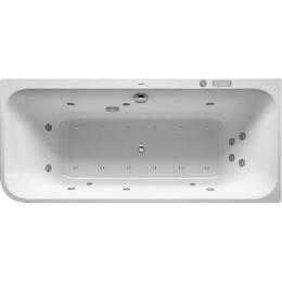 Duravit Happy D.2 Plus 760450800CE1000 Ванна гидромассажная 180 x 80 см Combi-System E