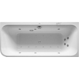 Duravit Happy D.2 Plus 760450800CP1000 Ванна гидромассажная 180 x 80 см Combi-System P