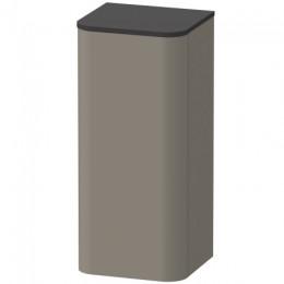 Duravit Happy D.2 Plus HP1260L9292, Пенал подвесной, 88 см, цвет серый камень