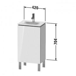 Duravit L-Cube LC6580L2222 Тумба напольная 42 см Белый глянцевый