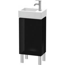 Duravit L-Cube LC6793L4040 Тумба напольная 36 см Черный глянцевый