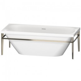 Duravit XVIU 700443000B10000 Ванна акриловая 180 см белый/шампань