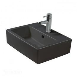 Duravit Vero 0454500800 Раковина с переливом 50 см черный