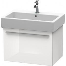 Duravit X-Large XL604202222 Тумбочка подвесная 65 см Белый глянцевый