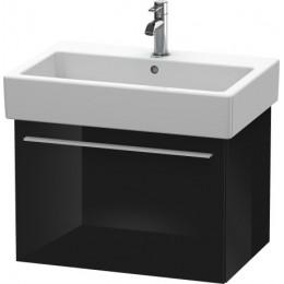 Duravit X-Large XL604204040 Тумбочка подвесная 65 см Черный глянцевый