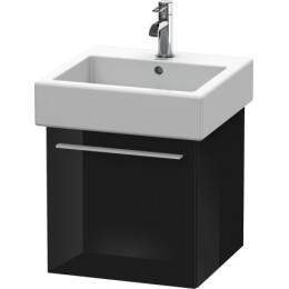 Duravit X-Large XL604304040 Тумбочка подвесная 45 см Черный глянцевый