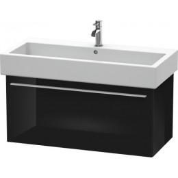 Duravit X-Large XL604504040 Тумбочка подвесная 75 см Черный глянцевый
