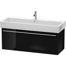 Duravit X-Large XL604704040 Тумбочка подвесная 115 см Черный глянцевый