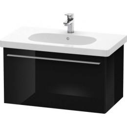 Duravit X-Large XL604804040 Тумбочка подвесная 80 см Черный глянцевый